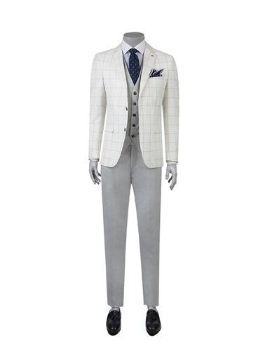 TWN Takım Elbise Beyaz